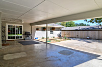 Covered Carport and Patio