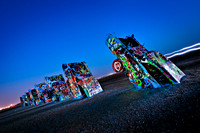 Cadillac Ranch with Light I