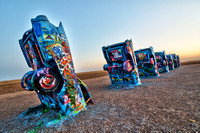 Cadillac Ranch Sunset  II