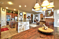Breakfast to Kitchen and Family Room