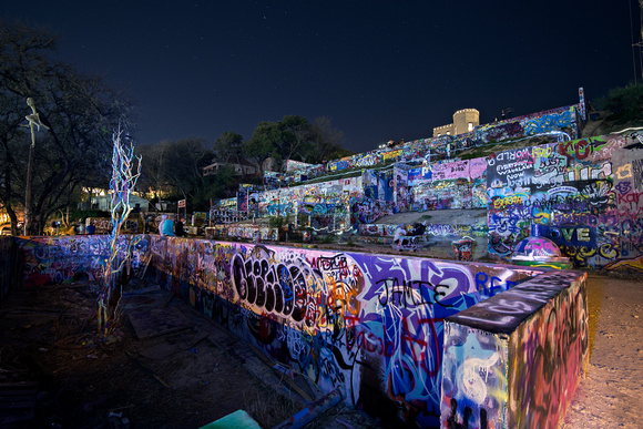 Graffiti Park Saturday Night