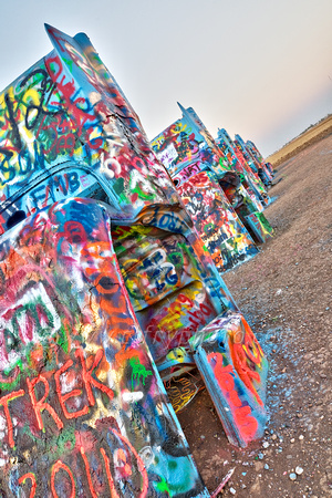 Cadillac Ranch Morning V