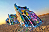 Cadillac Ranch Morning III